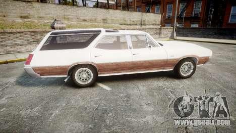 Oldsmobile Vista Cruiser 1972 Rims1 Tree3 for GTA 4 left view