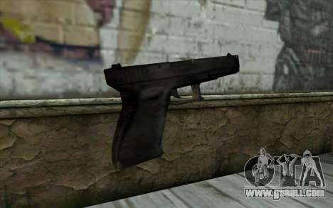 Glock from Beta Version for GTA San Andreas second screenshot