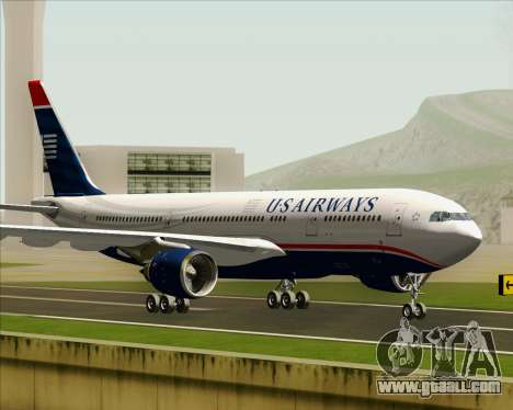 Airbus A330-200 US Airways for GTA San Andreas left view