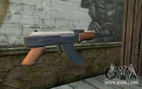 AK47 from Beta Version for GTA San Andreas second screenshot