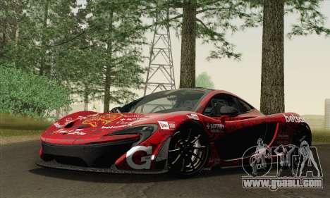 McLaren P1 HQ for GTA San Andreas engine