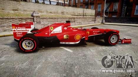 Ferrari F138 v2.0 [RIV] Alonso TSSD for GTA 4 left view