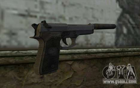 M9A1 Beretta from Spec Ops: The Line for GTA San Andreas second screenshot