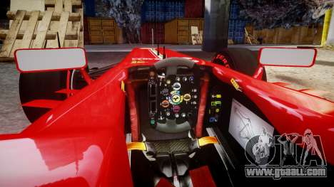 Ferrari F138 v2.0 [RIV] Alonso TSSD for GTA 4 inner view