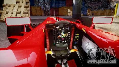 Ferrari F138 v2.0 [RIV] Alonso TSSD for GTA 4 inner view