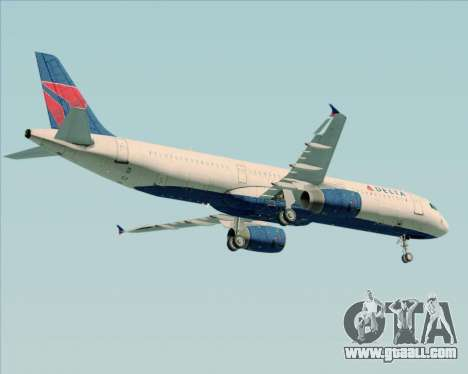 Airbus A321-200 Delta Air Lines for GTA San Andreas