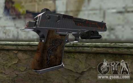 Silver Desert Eagle for GTA San Andreas second screenshot