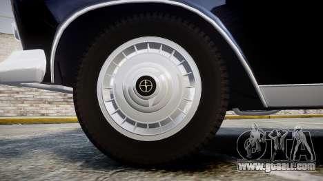 FSO Warszawa Ghia 1959 for GTA 4 back view