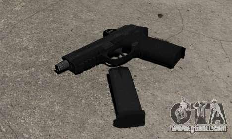 Gun FNP-45 for GTA 4 second screenshot