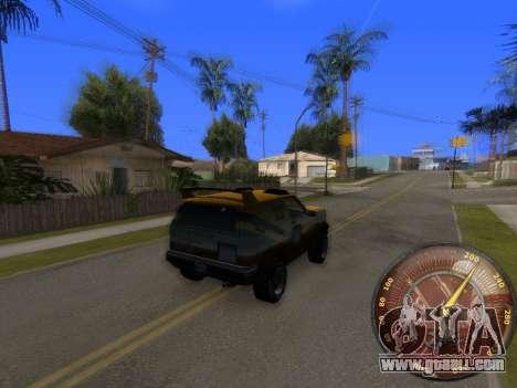 Speedometer HITMAN for GTA San Andreas second screenshot