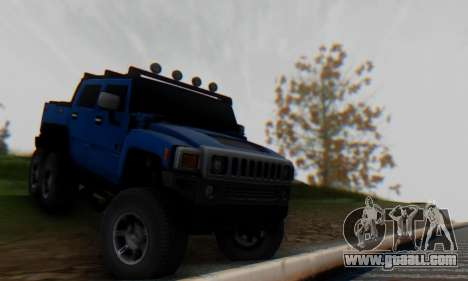 Hummer H6 Sut Pickup for GTA San Andreas