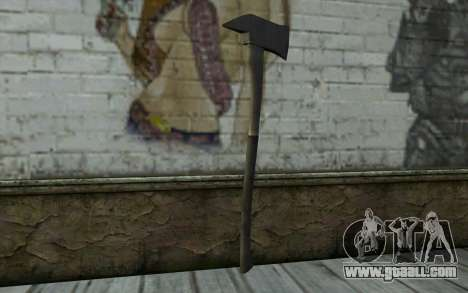 Fire axe (DayZ Standalone) v2 for GTA San Andreas second screenshot