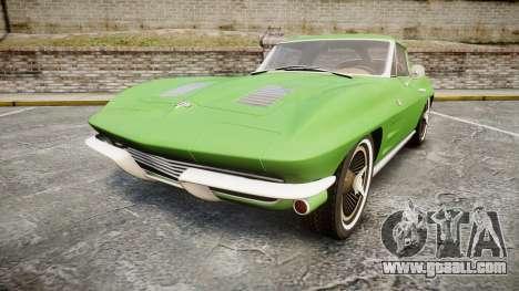 Chevrolet Corvette Stingray 1963 for GTA 4
