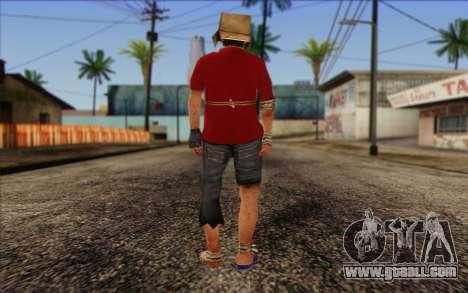 Vagabonds Skin 2 for GTA San Andreas second screenshot