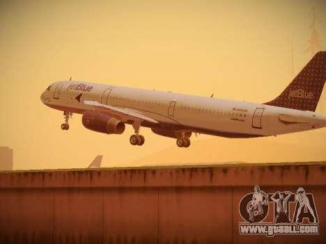 Airbus A321-232 jetBlue Woo-Hoo jetBlue for GTA San Andreas