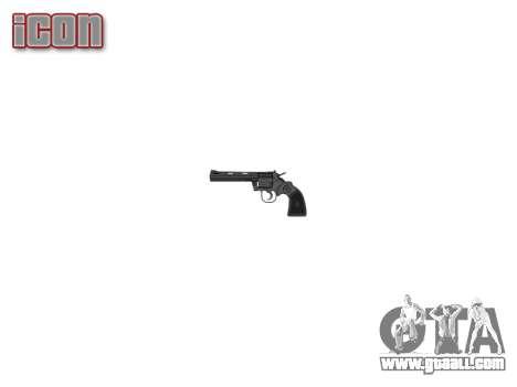 Revolver, Colt Python .357 Elite for GTA 4 third screenshot