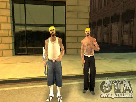 Changing areas of gangs and their weapons for GTA San Andreas sixth screenshot