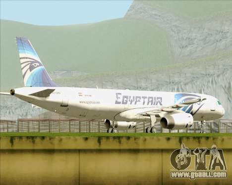 Airbus A321-200 EgyptAir for GTA San Andreas inner view