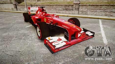 Ferrari F138 v2.0 [RIV] Alonso TSSD for GTA 4