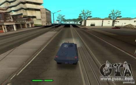 Car Indicator (HP) for GTA San Andreas