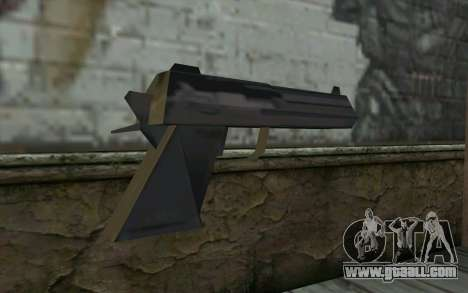 Desert Eagle from Cutscene for GTA San Andreas second screenshot