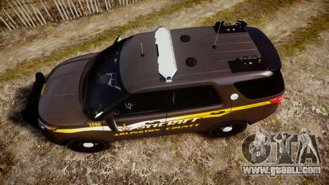 Ford Explorer 2013 Sheriff [ELS] Virginia for GTA 4 right view