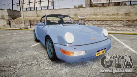 Porsche 911 Carrera 4 1989 for GTA 4