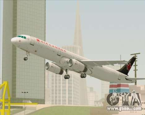 Airbus A321-200 Air Canada for GTA San Andreas engine