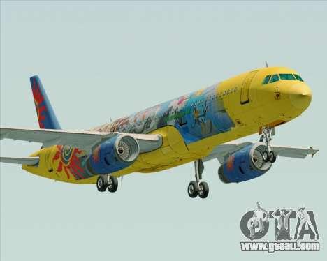 Airbus A321-200 for GTA San Andreas