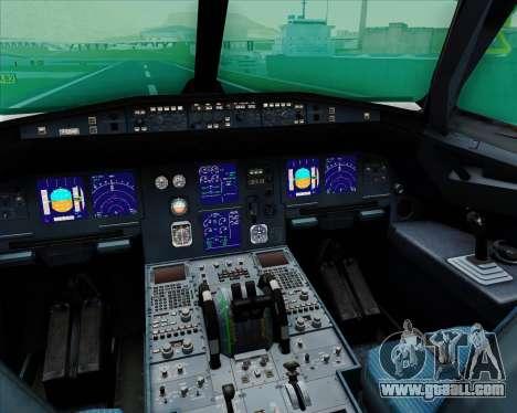 Airbus A321-200 EgyptAir for GTA San Andreas interior