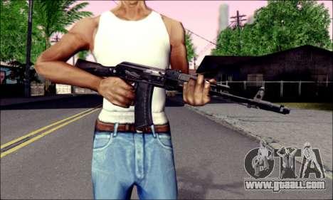 AK-74M for GTA San Andreas third screenshot