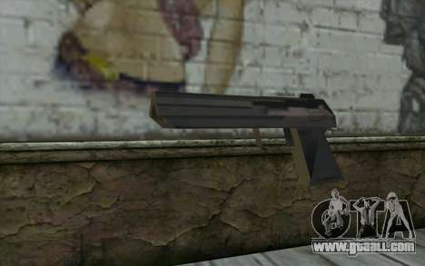 Desert Eagle from Cutscene for GTA San Andreas