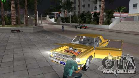 Dodge 330 Max Wedge Ramcharger 1963 for GTA Vice City inner view