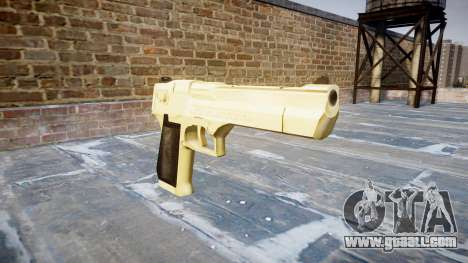 Пистолет Desert Eagle PointBlank Gold for GTA 4