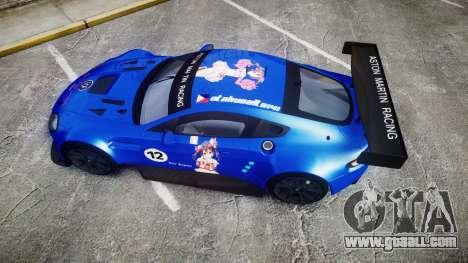 Aston Martin Vantage GTE Nico Yazawa for GTA 4 right view
