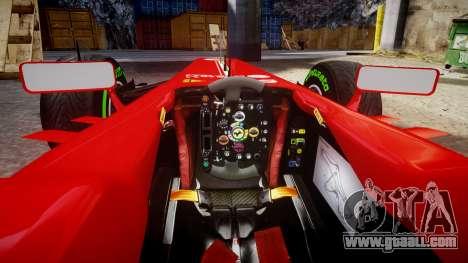 Ferrari F138 v2.0 [RIV] Massa TIW for GTA 4 inner view