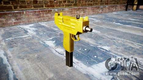 Golden Uzi for GTA 4