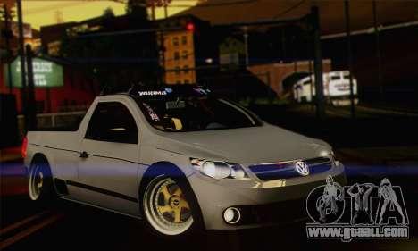 Volkswagen Saveiro Slammed for GTA San Andreas