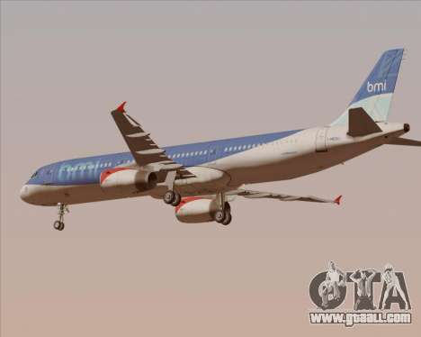 Airbus A321-200 British Midland International for GTA San Andreas engine