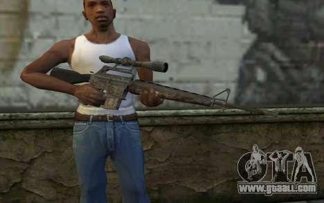 M16S from Battlefield: Vietnam for GTA San Andreas third screenshot