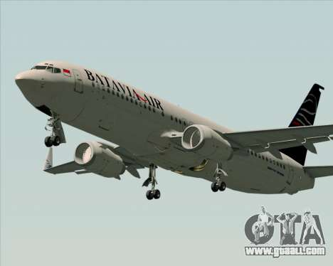 Boeing 737-800 Batavia Air for GTA San Andreas left view