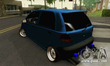 Daewoo Matiz Tuned for GTA San Andreas left view