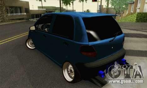Daewoo Matiz Tuned for GTA San Andreas left view