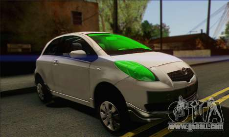 Toyota Yaris Shark Edition for GTA San Andreas
