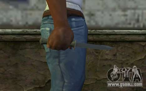 Combat knife (DayZ Standalone) v1 for GTA San Andreas third screenshot