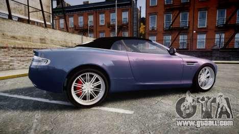 Aston Martin DB9 Volante 2005 VK Edition for GTA 4 left view