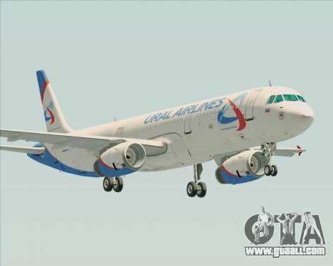 Airbus A321-200 Ural Airlines for GTA San Andreas