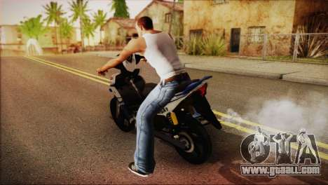 Yamaha Lagenda 115Z 2013 Fuel Injection for GTA San Andreas left view