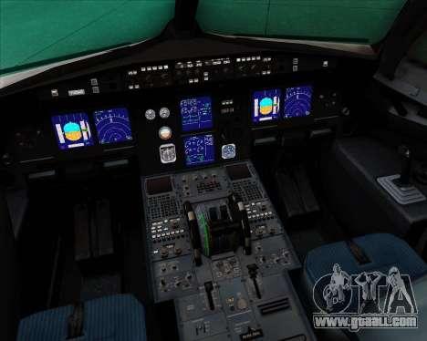 Airbus A321-200 Delta Air Lines for GTA San Andreas interior