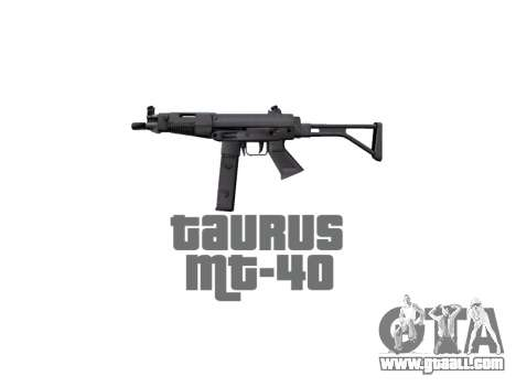 Gun Taurus MT-40 buttstock2 icon2 for GTA 4 third screenshot